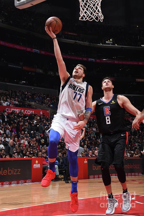 Dallas Mavericks V La Clippers Photograph by Adam Pantozzi
