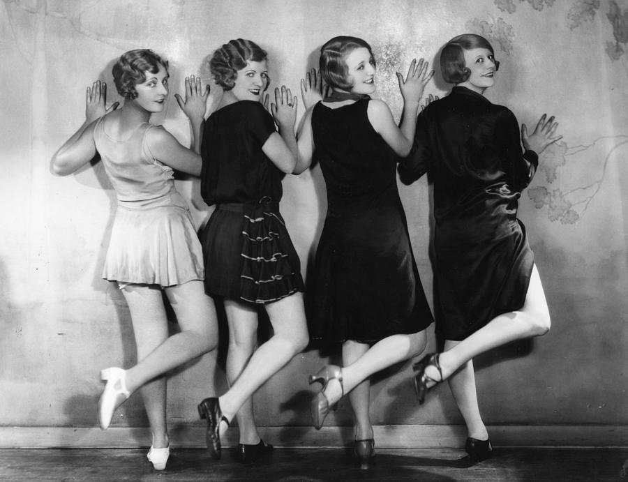 Dancing Girls Photograph by Sasha