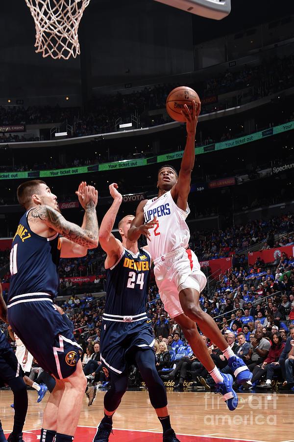 Denver Nuggets V La Clippers Photograph by Adam Pantozzi