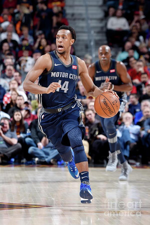 Detroit Pistons V Cleveland Cavaliers Photograph by David Liam Kyle