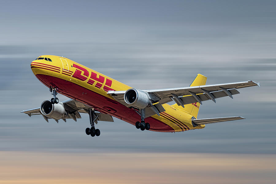 Dhl Mixed Media - Dhl Airbus A300-f4 by Smart Aviation