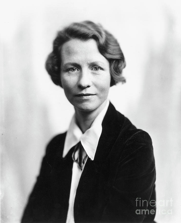 20th Century Photograph - Edna St. Vincent Millay 4 by Granger