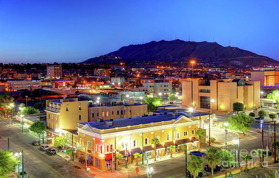 El Paso Photograph - El Paso, Texas by Denis Tangney Jr
