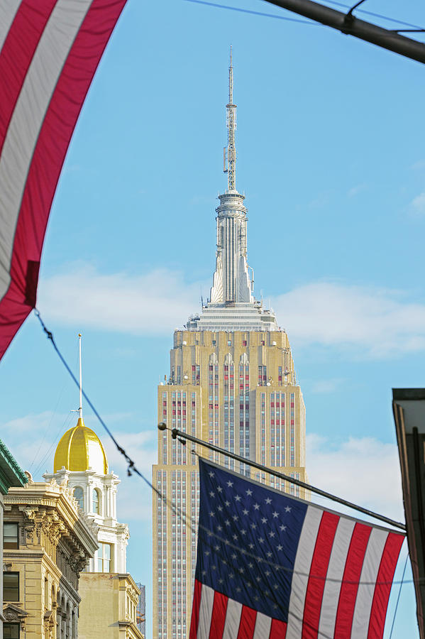 Empire State Building Photograph - Empire State Building, New York City by Ken Welsh