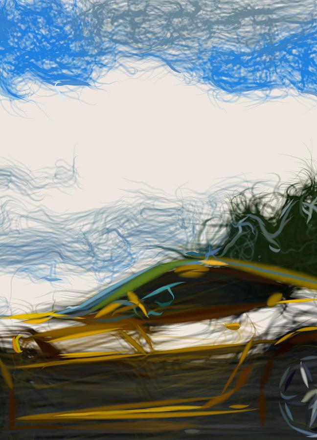 CANVAS Ferrari 599 GTB Fiorano HGTE Art print POSTER