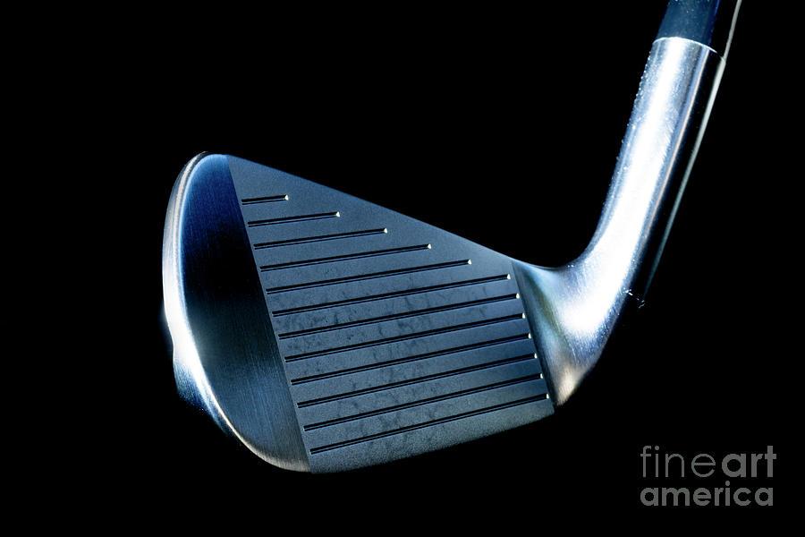 Golf Club Iron by Mats Silvan