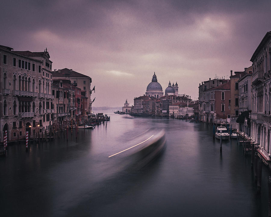Grand Canal of Venice by Suleyman Derekoy