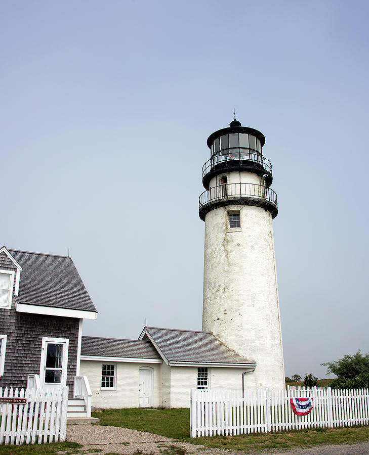 Highland Light Photograph - Highland Light - Cape Cod National Seashore by Brendan Reals