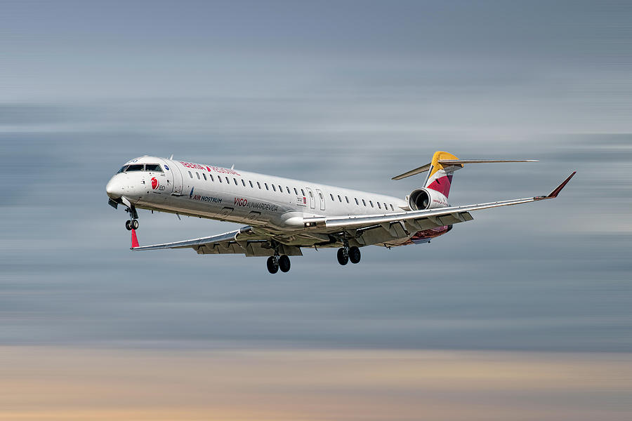 Iberia Mixed Media - Iberia Regional Bombardier Crj-1000 by Smart Aviation