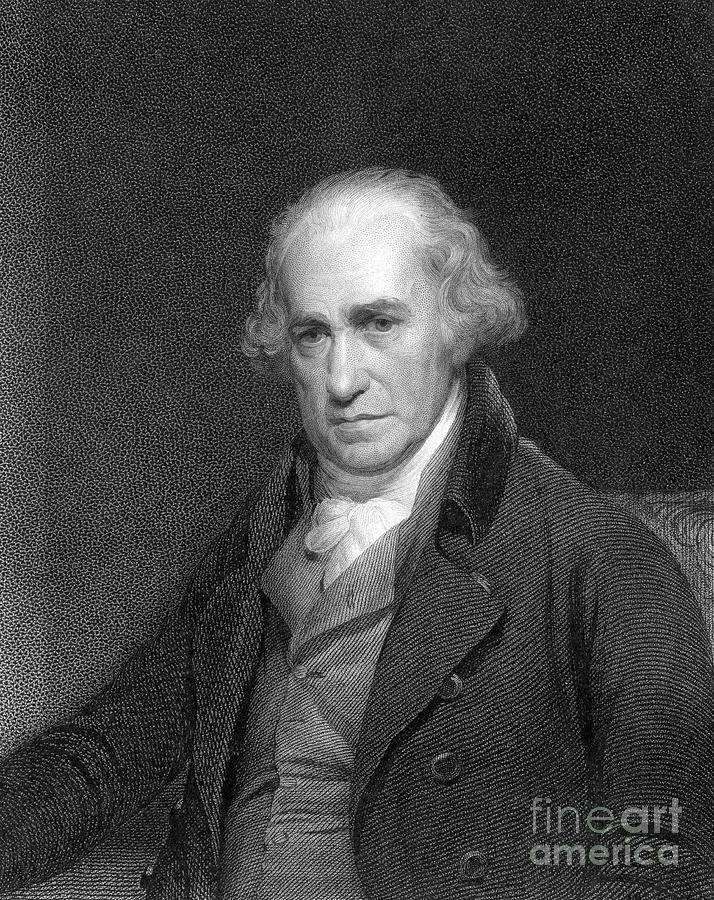 James Watt, Scottish Engineer Drawing by Print Collector