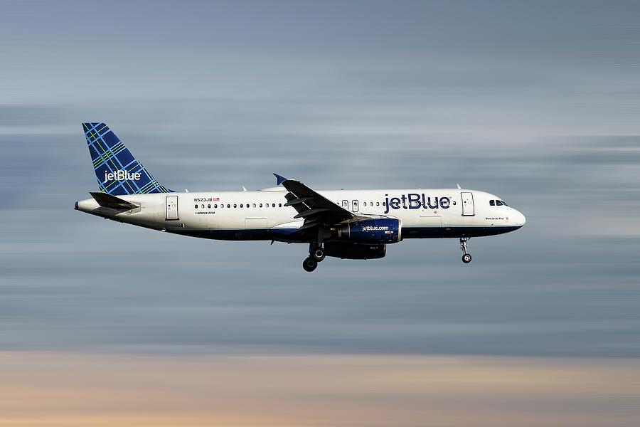 Jetblue Mixed Media - Jetblue Airways Airbus A320-232 by Smart Aviation