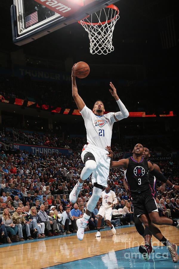 La Clippers V Oklahoma City Thunder Photograph by Layne Murdoch