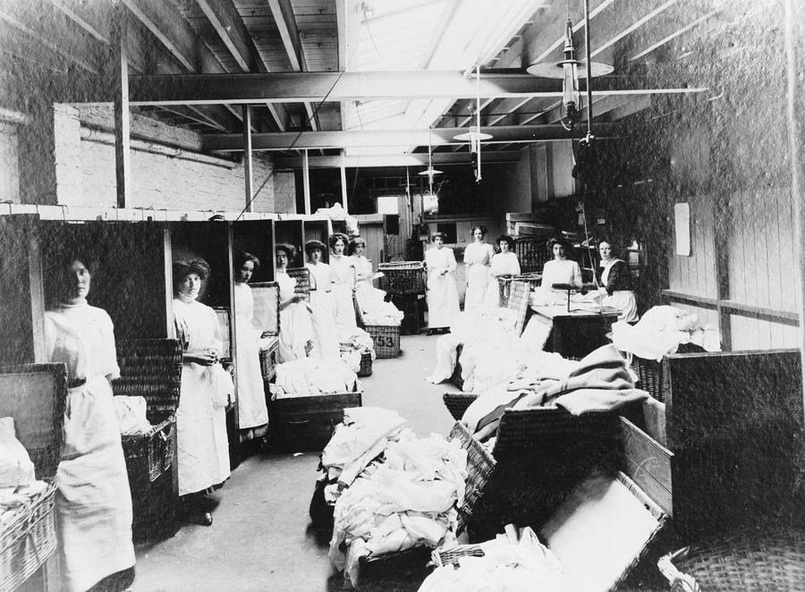 Laundry Workers Photograph by Chaloner Woods