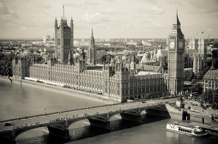 London Big Ben And House Of Parliament Photograph by Franckreporter