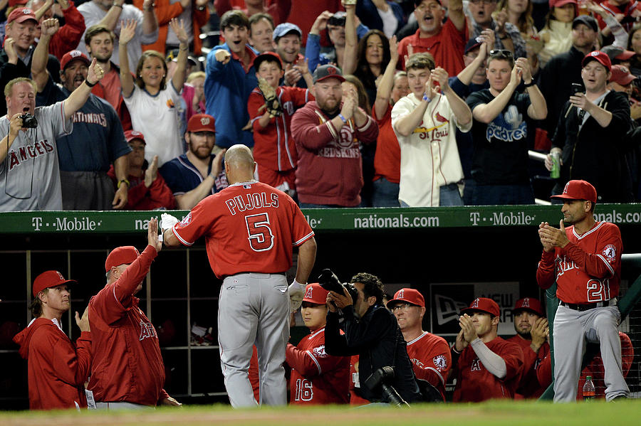 Los Angeles Angels Of Anaheim V Photograph by Patrick Smith