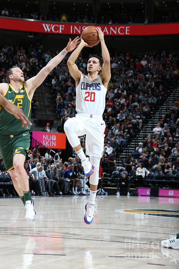 Los Angeles Clippers V Utah Jazz Photograph by Melissa Majchrzak