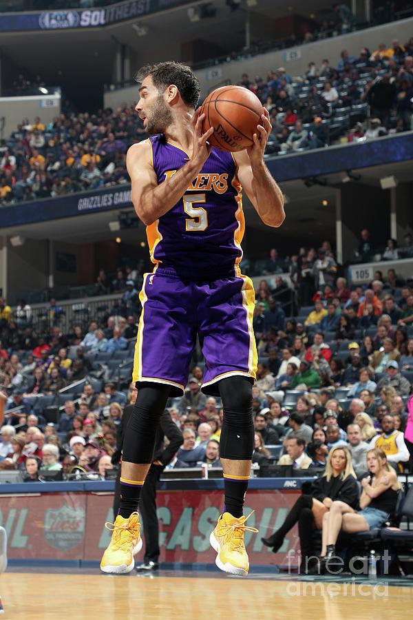 Los Angeles Lakers V Memphis Grizzlies Photograph by Joe Murphy