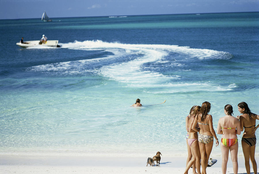 Lyford Cay Photograph by Slim Aarons