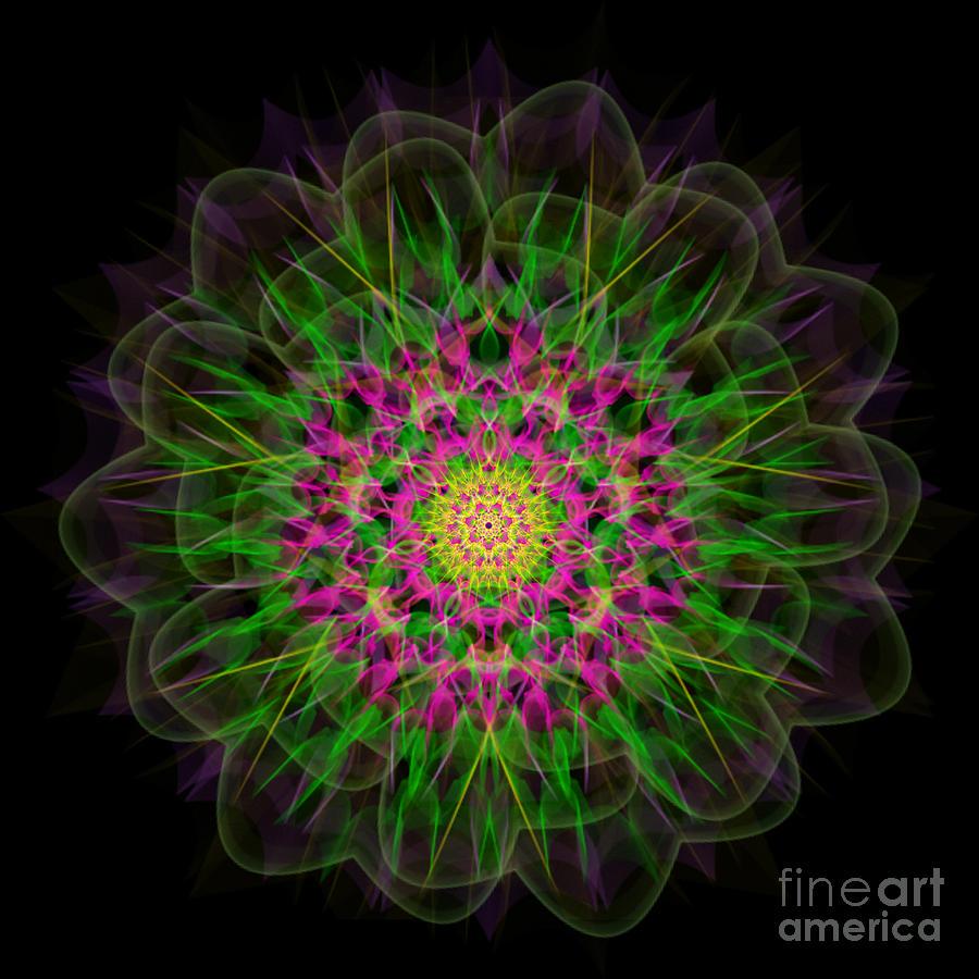 Mandala Meditation Portal by Nathalie DAOUT