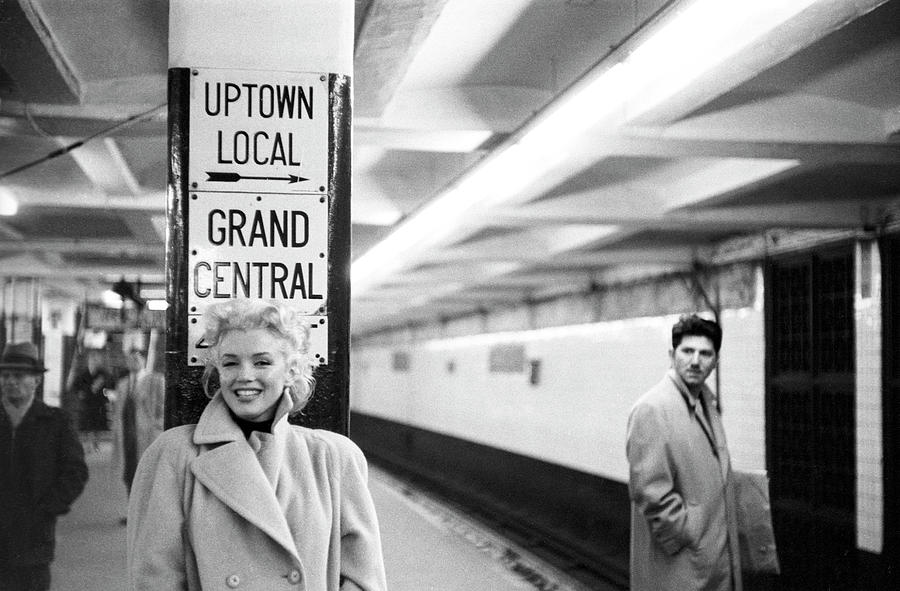 Marilyn In Grand Central Station Photograph by Michael Ochs Archives
