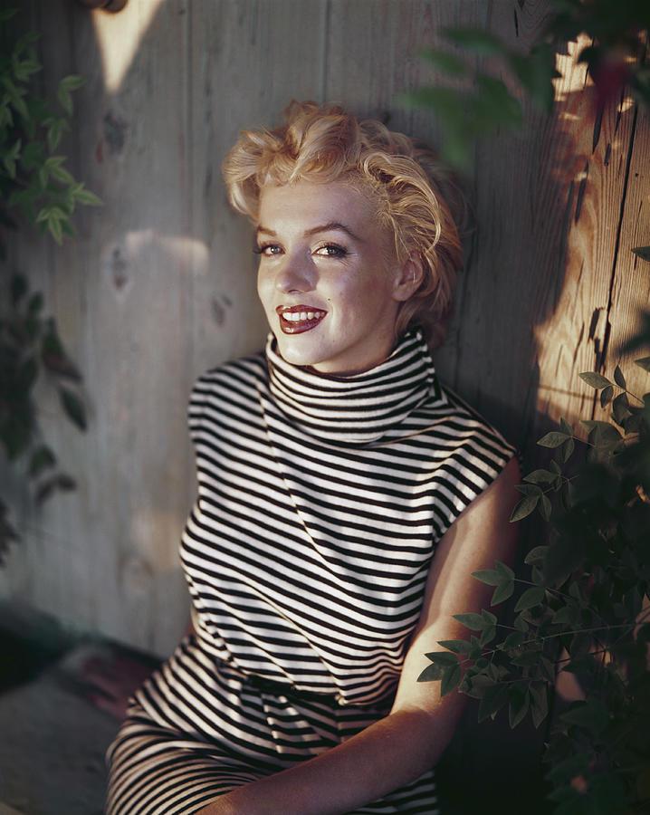 Marilyn Monroe Photograph by Baron