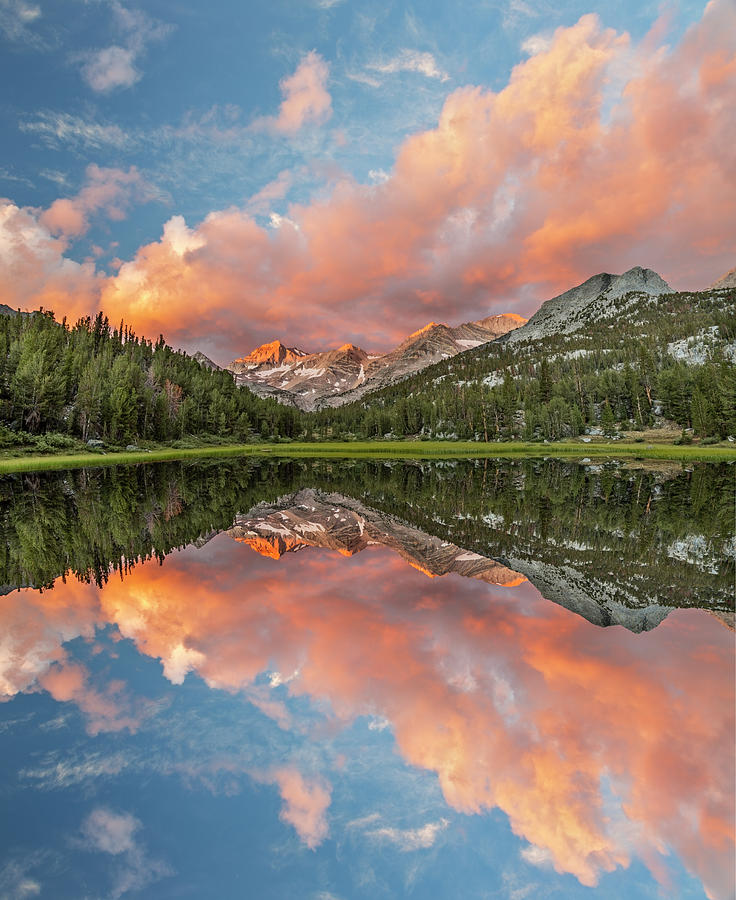 Adam Jones Photograph - Marsh Lake At Sunrise, John Muir by Adam Jones