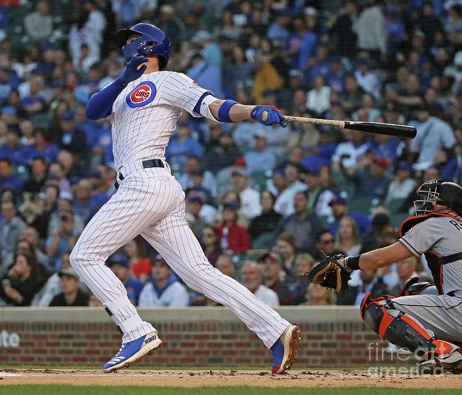 Miami Marlins V Chicago Cubs Photograph by Jonathan Daniel