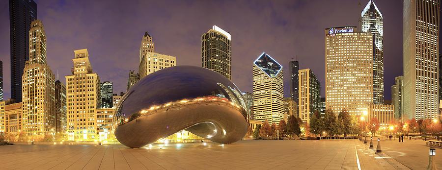 Millennium Park, Chicago, Illinois,usa Photograph by Travelpix Ltd