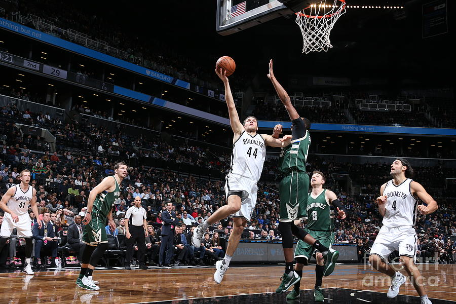 Milwaukee Bucks V Brooklyn Nets Photograph by Nathaniel S. Butler