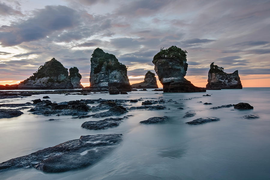 Greymouth Photograph - Motukiekie Beach - New Zealand by Joana Kruse