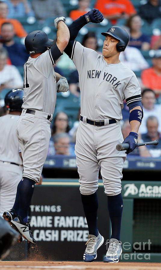 New York Yankees V Houston Astros Photograph by Bob Levey