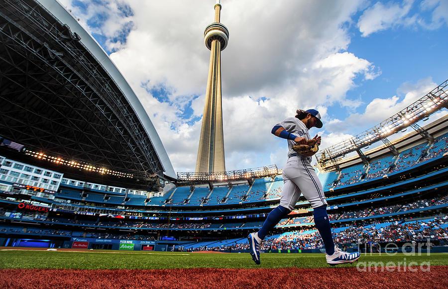 New York Yankees  V Toronto Blue Jays 4 Photograph by Mark Blinch