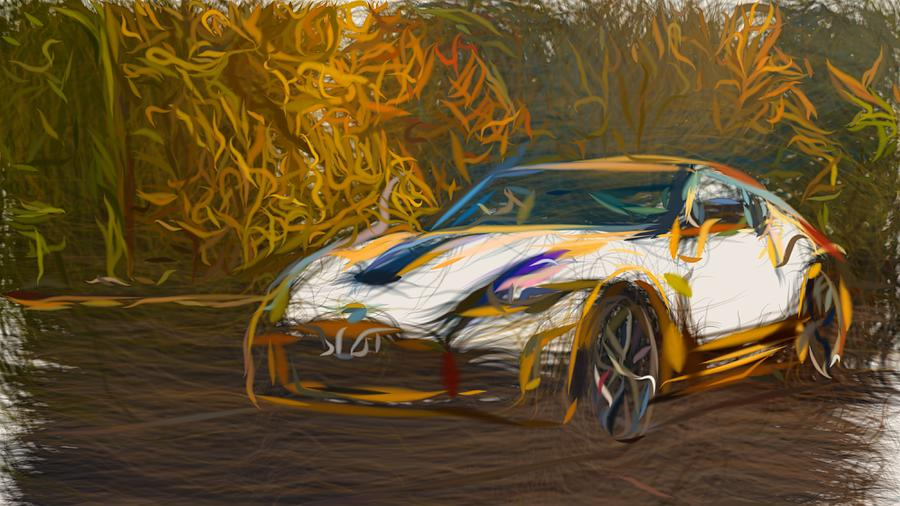Nissan 370z Heritage Edition Drawing