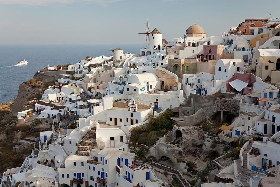 Oia, Santorini, Cyclades Islands, Greece Photograph by Peter Adams