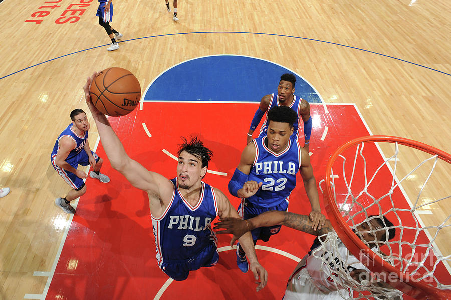 Philadelphia 76ers V La Clippers Photograph by Andrew D. Bernstein