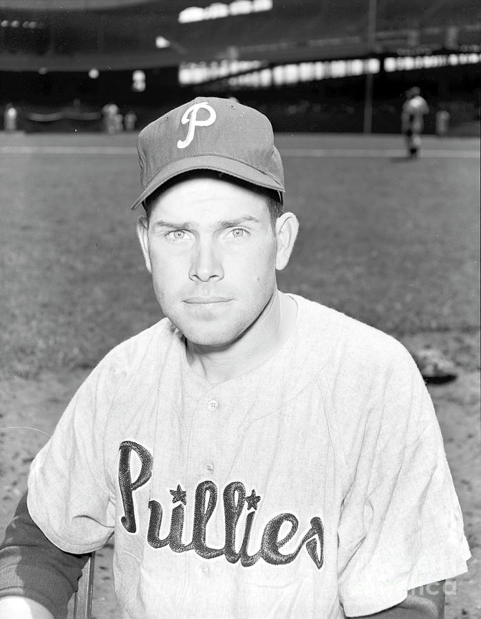 Philadelphia Phillies Vs. New York 4 Photograph by Kidwiler Collection