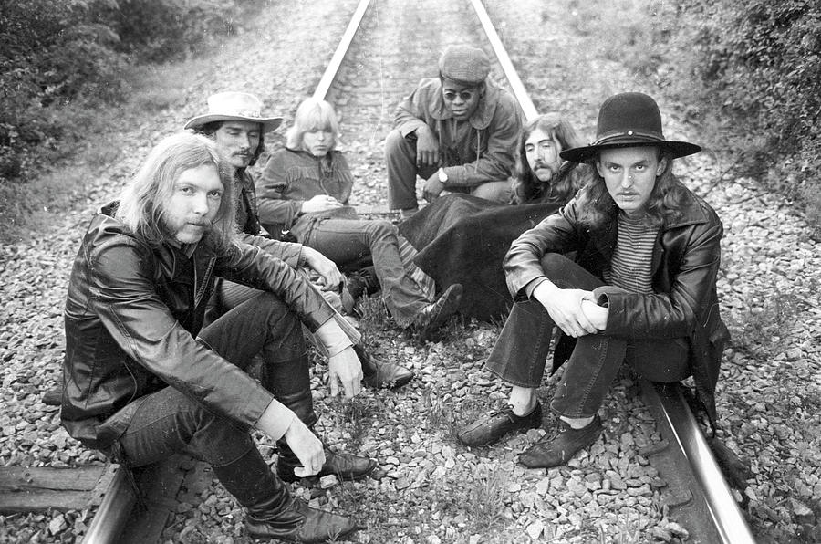 Photo Of Allman Brothers 4 Photograph by Michael Ochs Archives