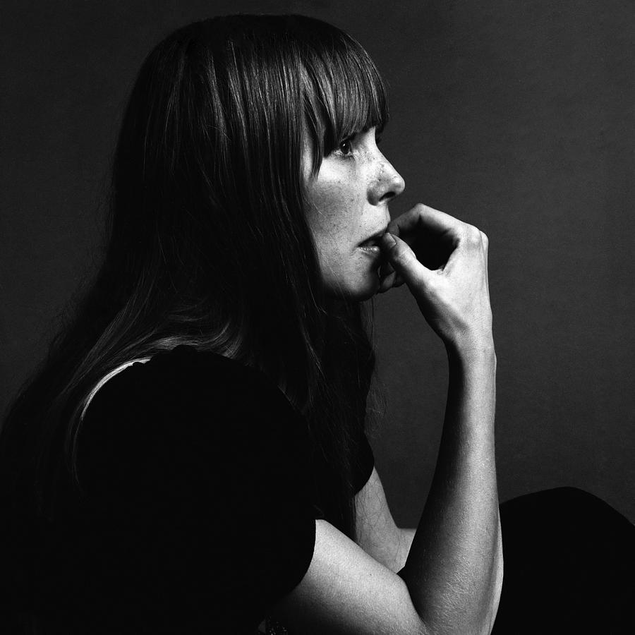 Portrait Of Joni Mitchell Photograph by Jack Robinson
