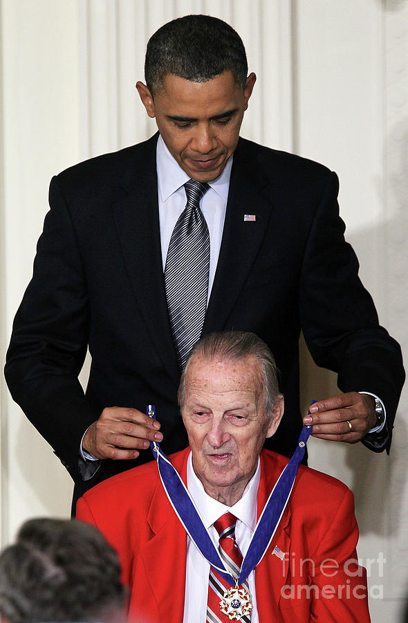 President Obama Honors Medal Of Freedom Photograph by Alex Wong