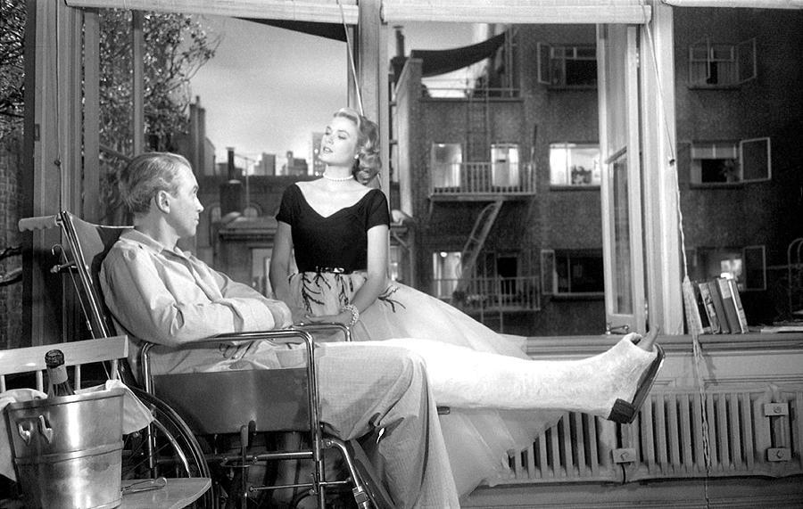 Rear Window Photograph by Michael Ochs Archives