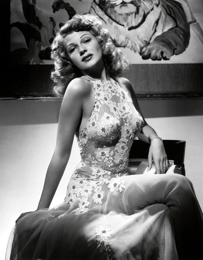 RITA HAYWORTH in YOU WERE NEVER LOVELIER -1942-. Photograph by Album