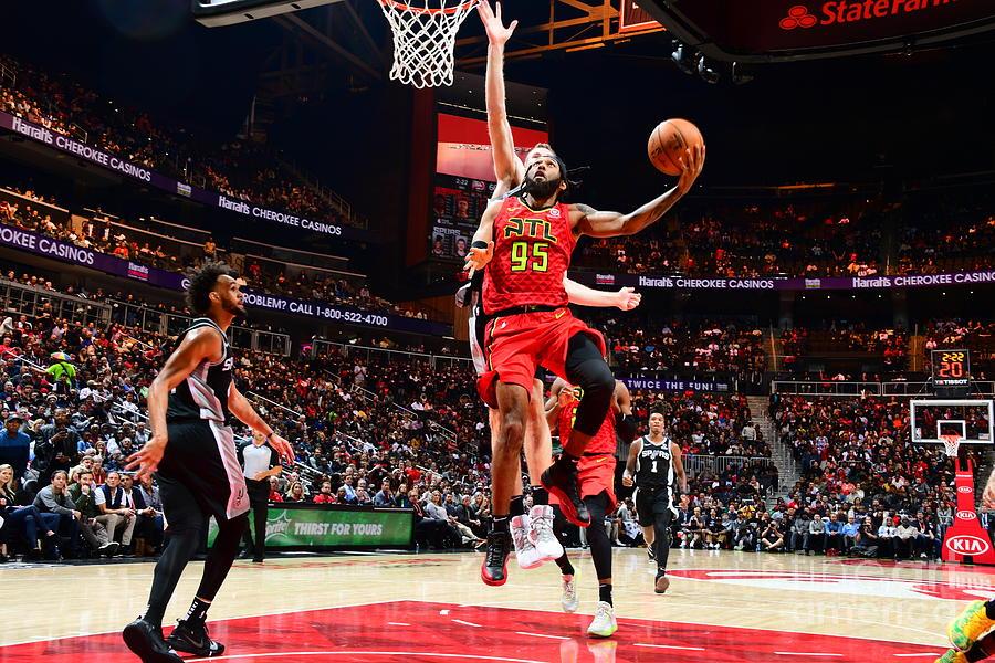 San Antonio Spurs V Atlanta Hawks Photograph by Scott Cunningham