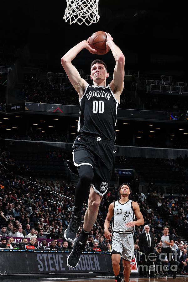 San Antonio Spurs V Brooklyn Nets Photograph by Nathaniel S. Butler