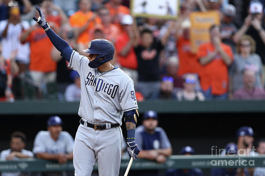 San Diego Padres V Baltimore Orioles 4 Photograph by Patrick Smith