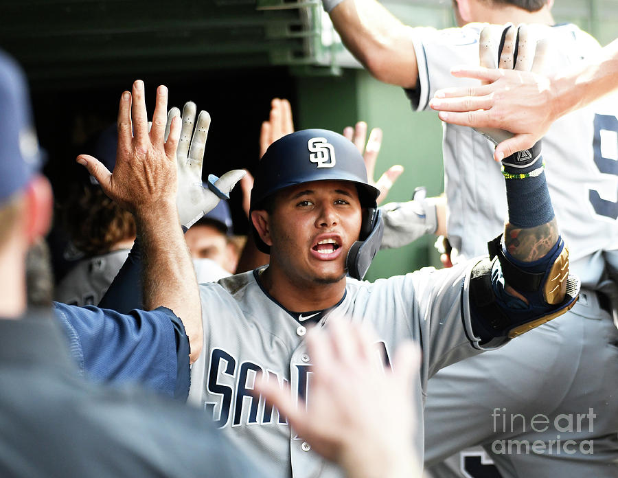 San Diego Padres V Chicago Cubs 4 Photograph by David Banks