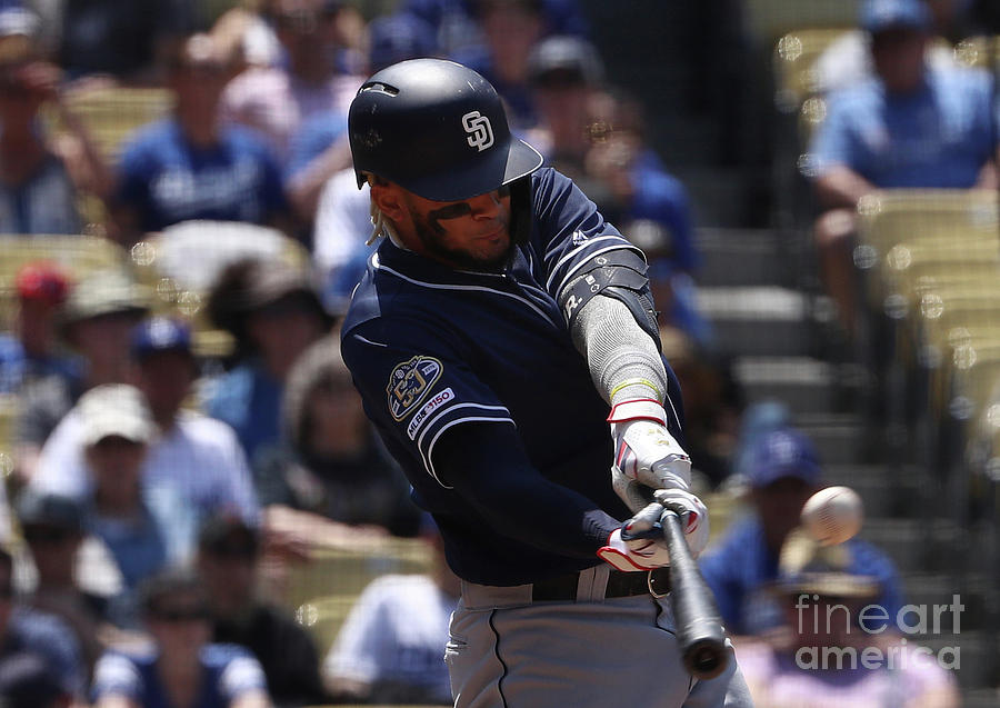 San Diego Padres V Los Angeles Dodgers Photograph by Victor Decolongon