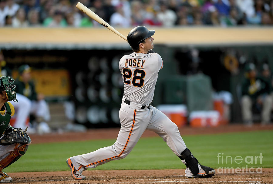 San Francisco Giants V Oakland Athletics 4 Photograph by Thearon W. Henderson