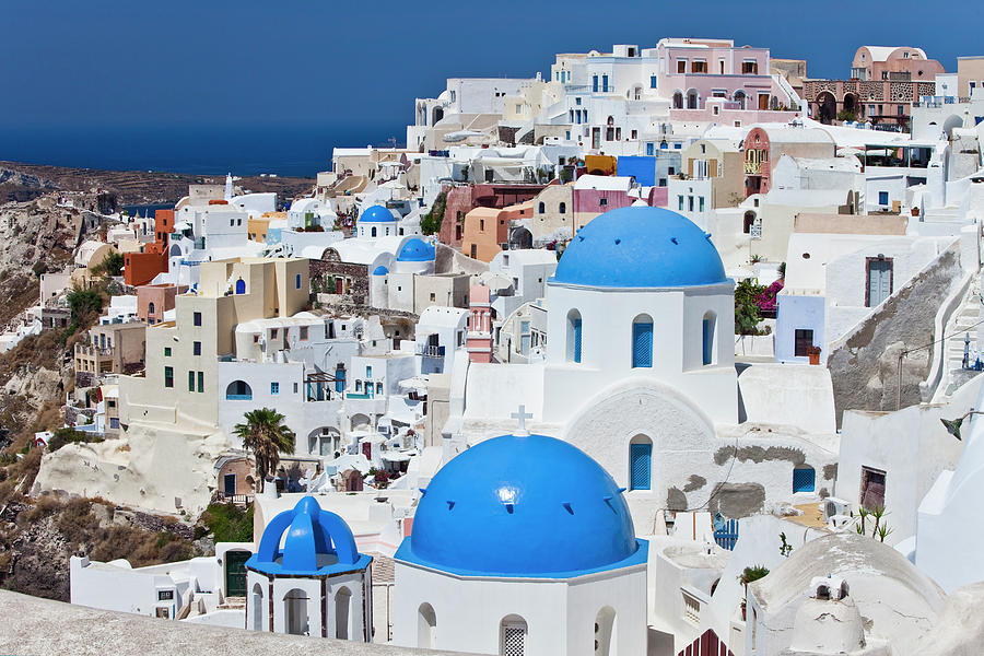 Santorini Famous Churches Photograph by Mbbirdy