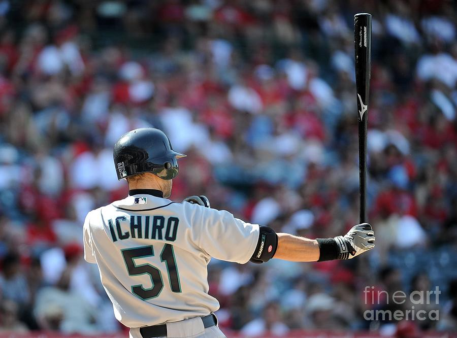 Seattle Mariners V Los Angeles Angels 4 Photograph by Harry How