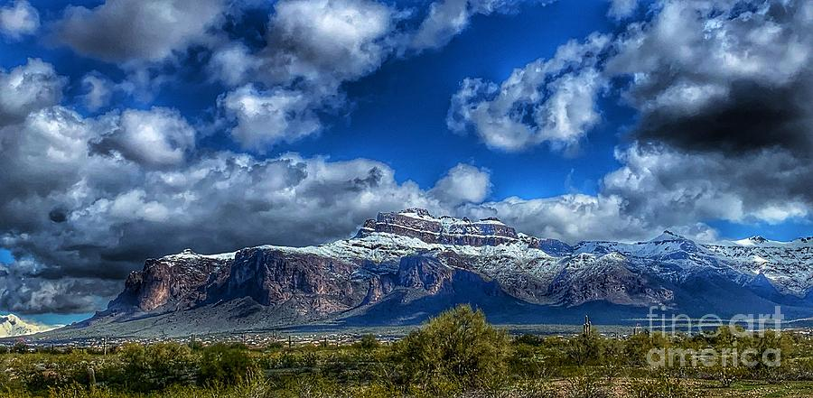 Superstition Mountain by Pamela Walrath
